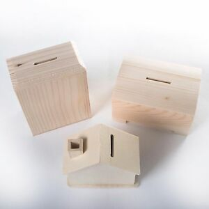 Wooden-Money-Boxes-Pine-Plywood-Small-Kids-Piggy-Bank-Coin-Cash-Box