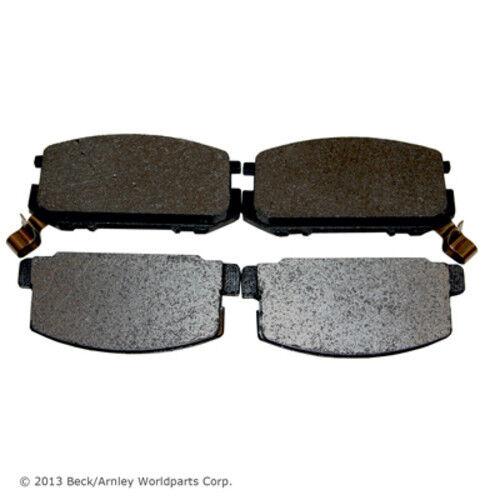 BECK//ARNLEY 082-1274 Premium Organic Disc Brake Pads Front