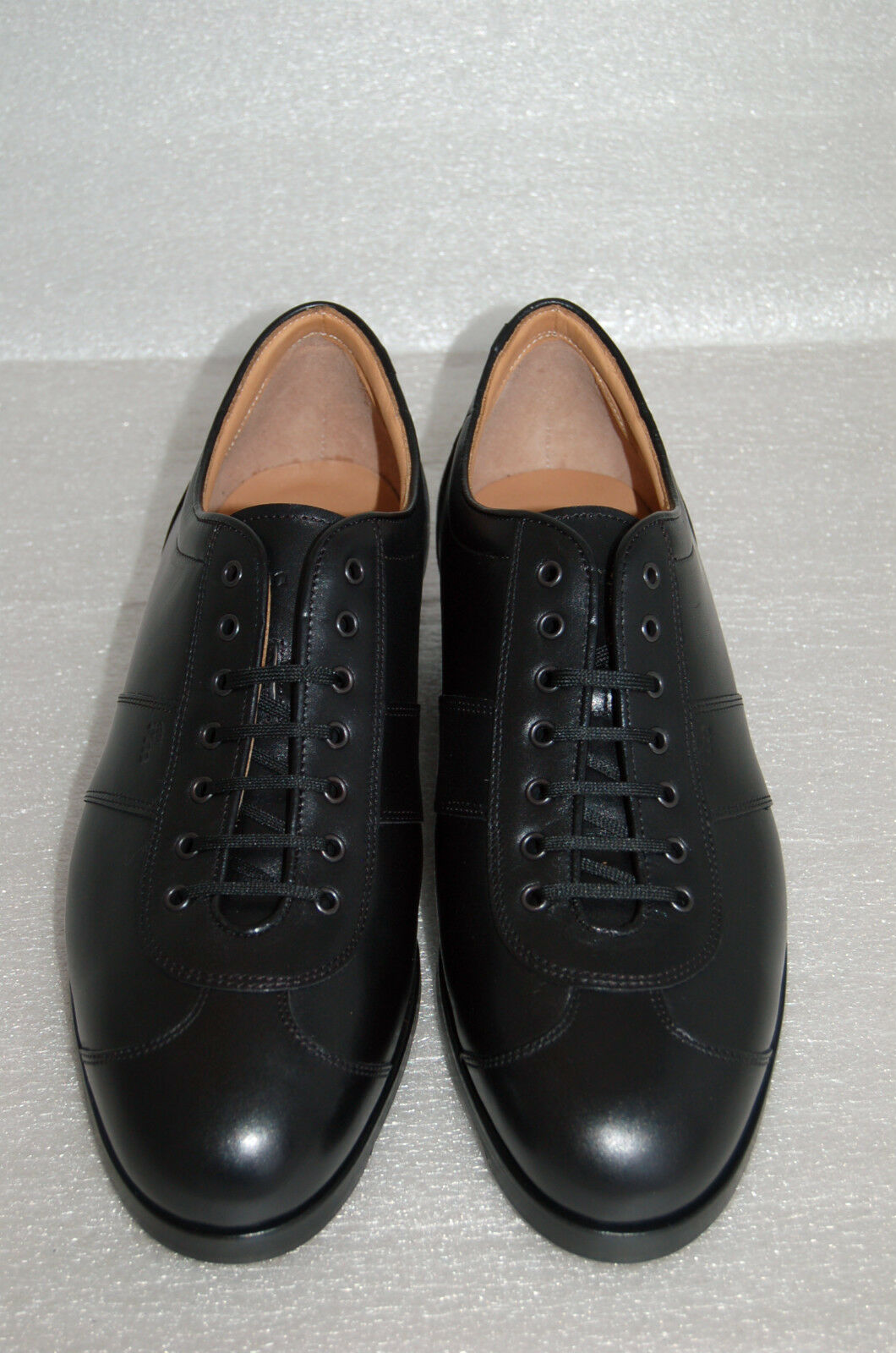 herren herren herren - MAN-CASUAL SNEACKER - 42½ - 8½ eu - VIT. schwarz-schwarz CALF - FONDO SIENA ee1c71