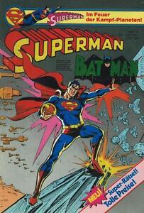 Superman 1981/13 (z1, Sm), Ehapa-afficher Le Titre D'origine Forte RéSistance à La Chaleur Et à L'Usure