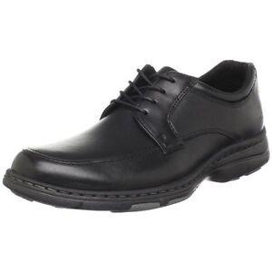 Dunham By New Balance Hamilton Mens Leather Moc Toe Oxfords Diabetic