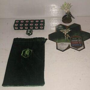 Heroscape-Acolarh-Ullgar-Flag-Bearer-Complete-Set-Crest-Valkyrie-Dice-Bag-Feylun