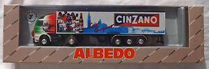 SCANIA-142-M-CINZANO-ALBEDO-semi-remorque-emballage-d-039-origine-H0-1-87