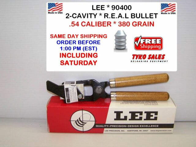 90404 Lee Double Cavity Mold .58 440Gr W//Handles Reloading Bullet Mold