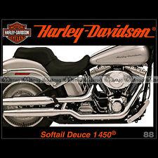 HARLEY-DAVIDSON N°88 ★ 1450 SOFTAIL DEUCE ★ VALERIE THOMPSON ★ OHC 1100 & NOVA ★