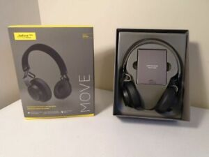 Jabra Move Wireless Stereo Headphones Black As Is Left Side Has No Sound 615822006767 Ebay