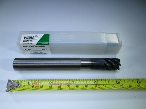 """HANITA SOLID CARBIDE ROUGHING END MILL 5//8/"""" X 5/"""" LONG REACH MILLING ROUGHER TOOL"""