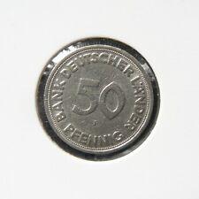 BRD 50 Pfennig 1949 F Bank Deutscher Länder (magnetisch)
