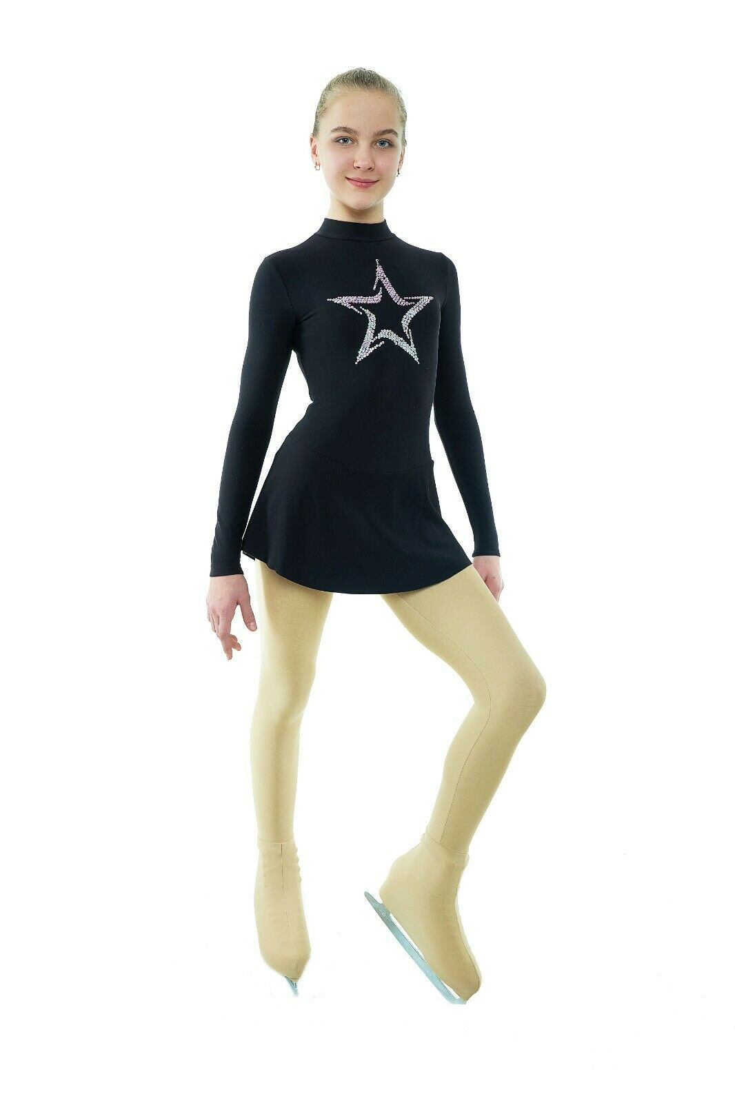 Training Figure Skating Dress Star