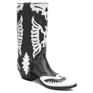 White Double Eagle Classic Cowboy Boots