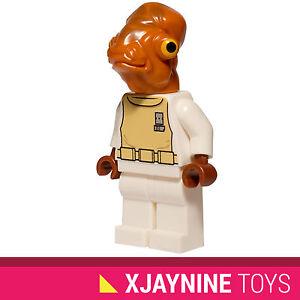 GENUINE-LEGO-STAR-WARS-Admiral-Ackbar-Minifig-Return-of-the-Jedi-NEW-RARE-7754