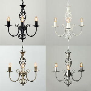 Traditional-Barley-Twist-3-Way-Ceiling-Pendant-Light-Fitting-Chandelier-Lights