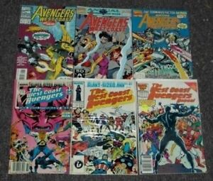 West-Coast-Avengers-Annuals-U-PICK-ONE-1-2-3-4-5-6-7-or-8-PRICED-PER-COMIC