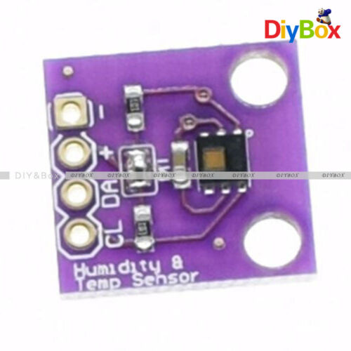 HTU21D Temperature/&Humidity Sensor Module Temperature Sensor Breakout  I2C SHT21