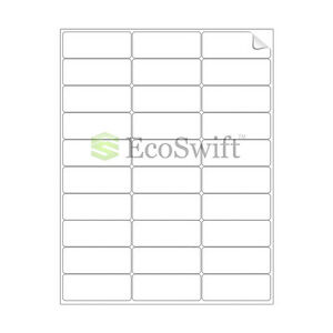 300-2.625 x 1 Blank Laser Ink Jet Mailing Adhesive Address Labels 1 x 2 5//8