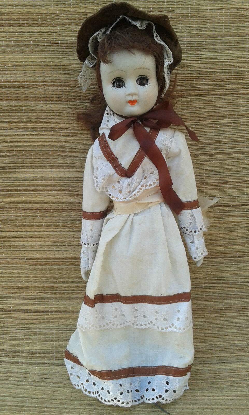 Old doll porcelain, toy, collection, old porcelan doll