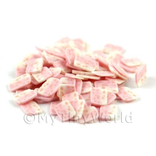 09ns12 2x 50 rosa Nougat Nail Art fette