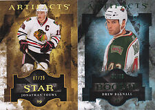 11-12 Artifacts Drew Bagnall /99 Rookie EMERALD GREEN RC