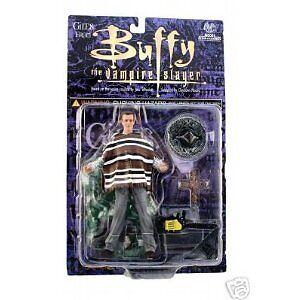 Buffy The Vampire Slayer Fiesta Giles Action Figure NEW