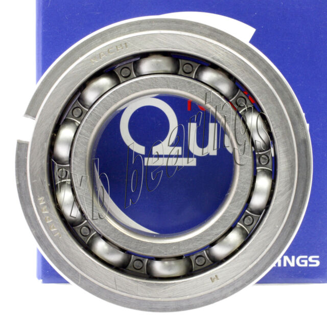 6000 Nachi Open Deep Groove Ball Bearing Made in Japan