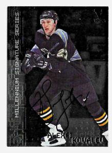 2015-16-Alexei-Kovalev-ITG-Final-Vault-1999-00-BAP-Millennium-Auto-Penguins
