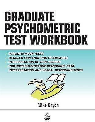 1 of 1 - The Graduate Psychometric Test Workbook by Mike Bryon (Paperback, 2005)
