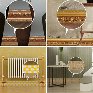5m 3d Door Skirting Board Decal Home Decor Mural