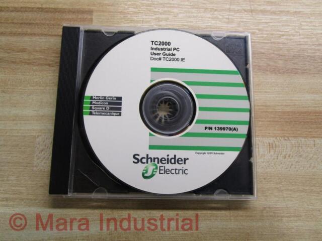 Schneider 139970 (A) Software CD For TC2000