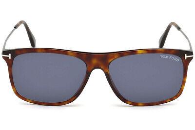 Tom Ford Blonde Havana Rachel Round Sunglasses Lens Category 2 Size FT0533 53F