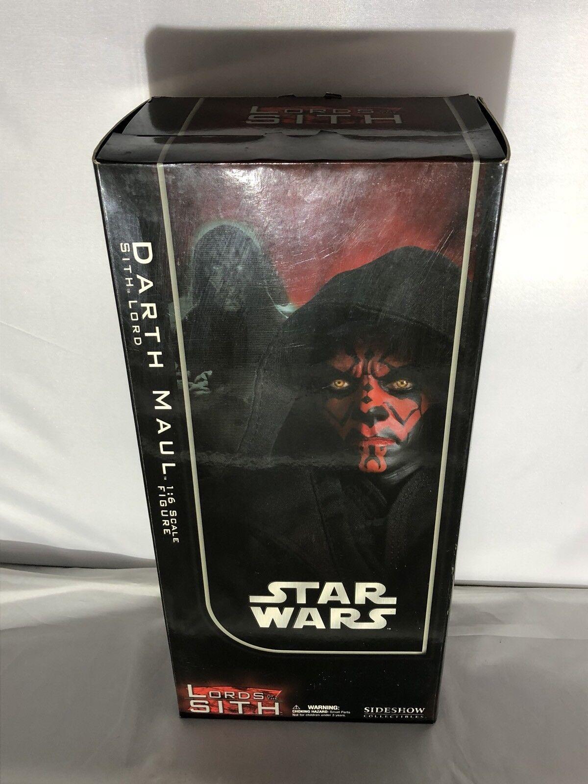 Sideshow  Star Wars Darth Maul  Sith Lord  AF SSC 1008
