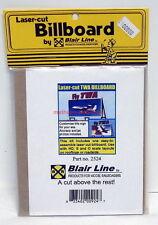 Blair Line~Billboard~2524~Fly TWA~Airlines~Laser-cut Wood Kit~HO,S,O-Scale