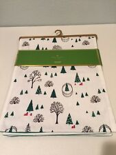 Kate Spade Holiday Village Table Runner Christmas 15 x 72