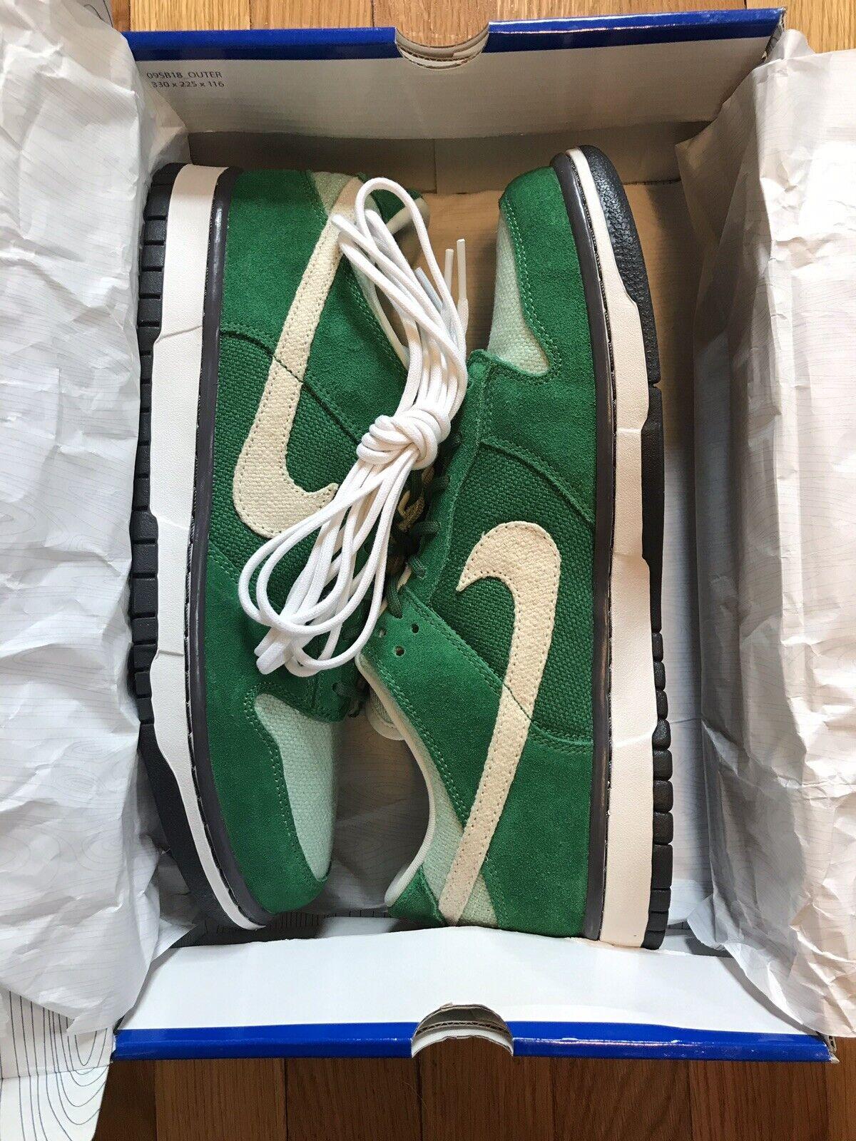 Nike Sb Low Green Hemp St Pattys Day