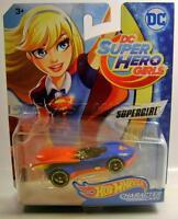 Supergirl Dc Super Hero Girls Comics Character Car Hot Wheels Diecast