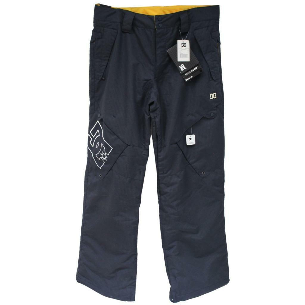 DC Donon Mens Size XL Extra Large True Navy Waterproof Ski Snow Board Pants