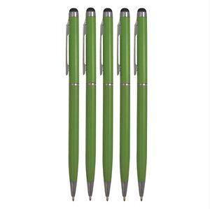 5x Touchpen Stylus Eingabestift mit Kugelschreiber Kulli grün Smartphone Tablet