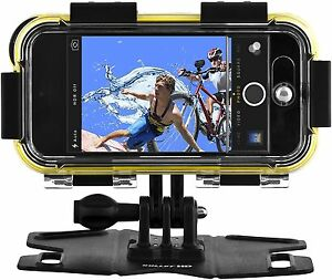 POLAROID Extreme Sports Action Waterproof Case w/Mount for iPhone SE & iPhone 5s