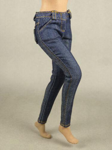 Female Dark Blue Denim Jean 1//6 Scale Phicen Hot Toys Kumik Nouveau Toys
