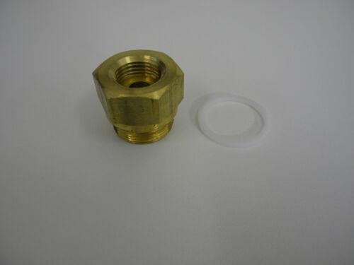 Rochester Fuel Inlet Fitting QuadraJet Carburetor 7//8-20 x 5//8-18 Inverted Flare