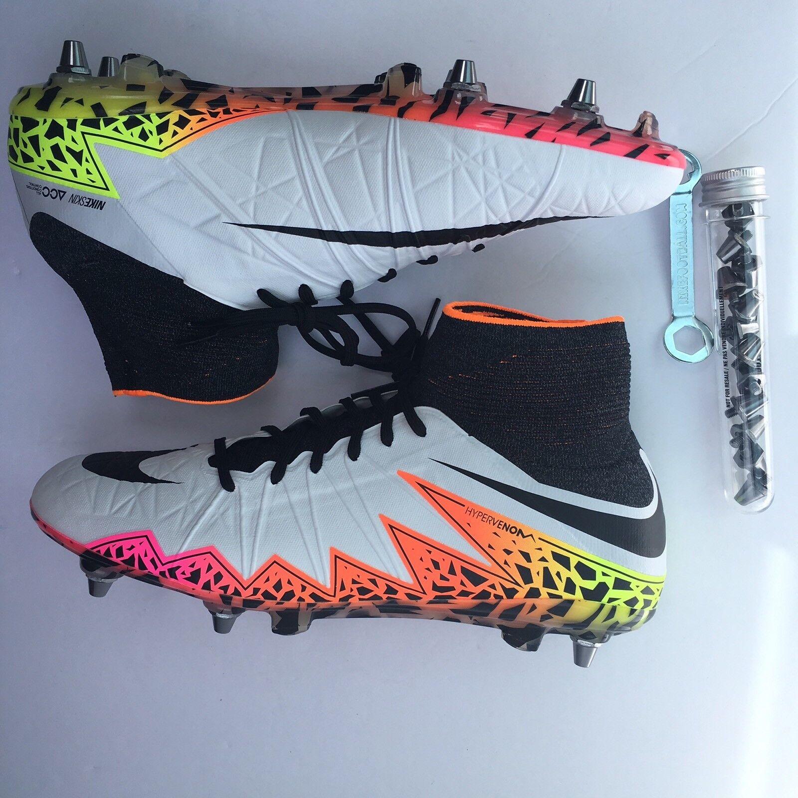 Nike hypervenom phantom ii sg pro calcio stivali 747489 109 gli scarpini da calcio sz 11