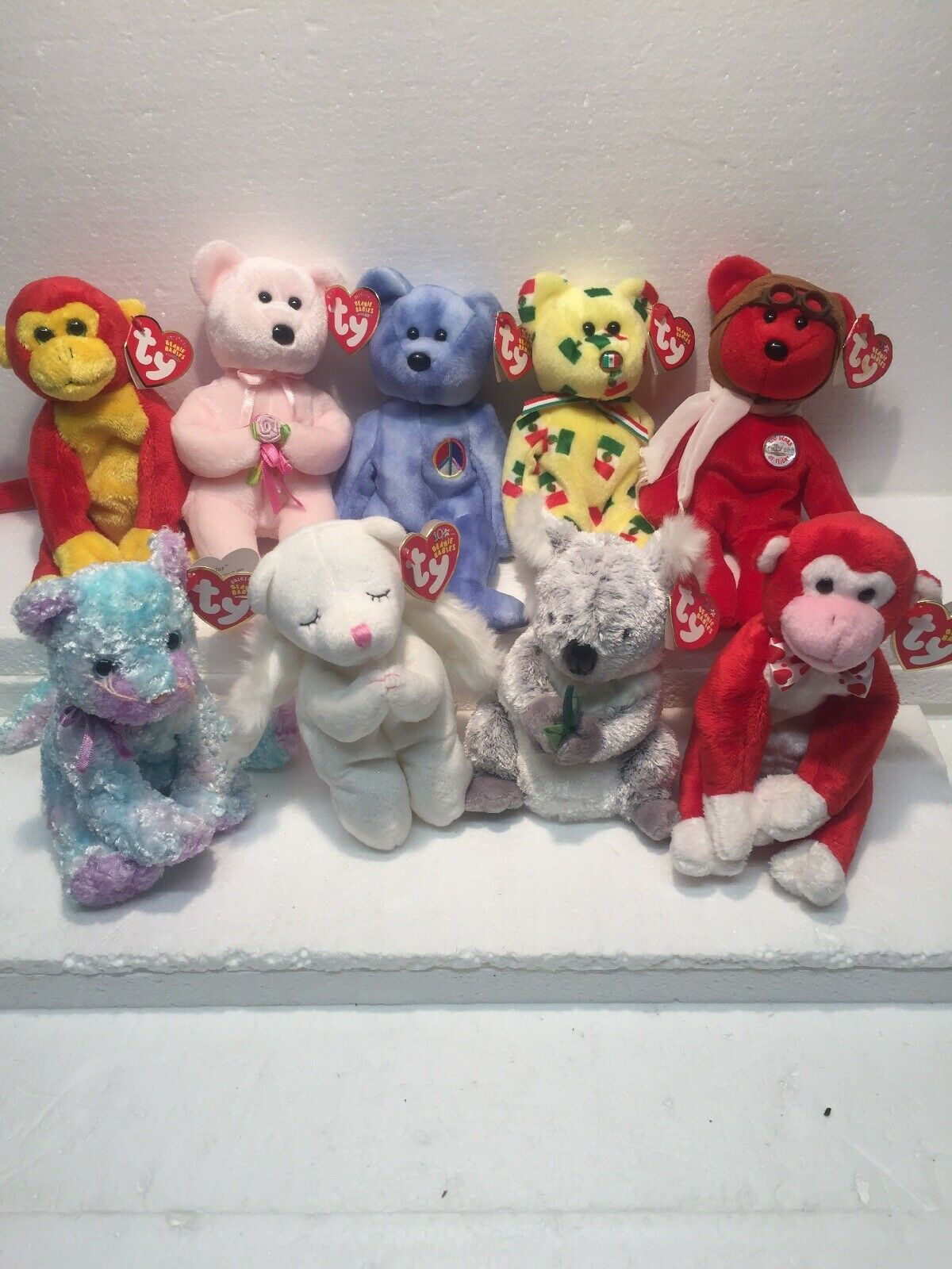 Ty Beanie Baby 2003 Lot of 9