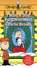 I Want a Dog for Christmas, Charlie Brown (VHS, 2004)
