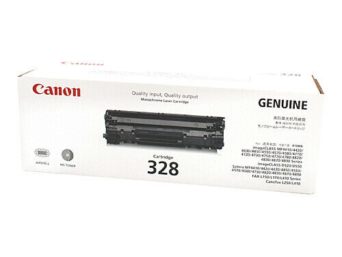 Canon CART328 Black Toner Cartridge For IMAGECLASS MF4420N MF4550D MF4570DN L150