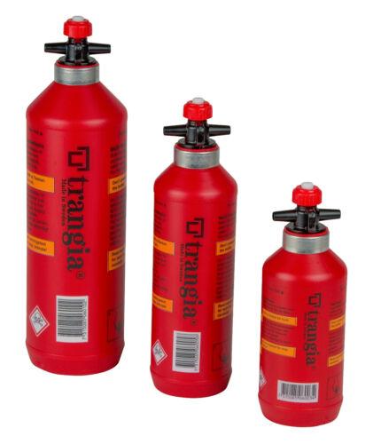 Trangia Sicherheitsflasche Brennstoffflasche Spiritus rot