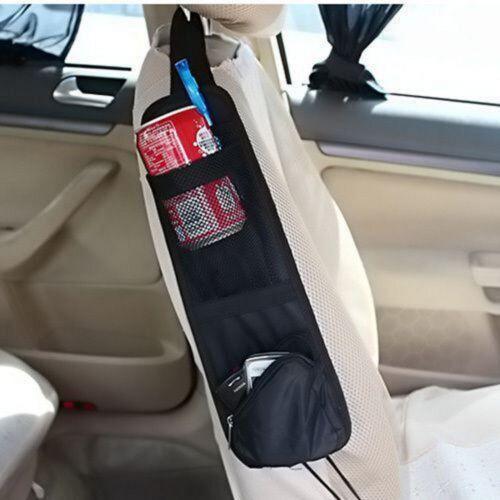 2X Car Van Multi Side Pocket Seat Storage Collector Hanging Bag Organiser Pouch