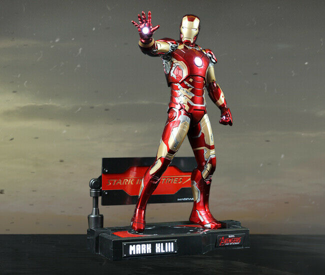 AVENGERS  AGE OF ULTRON - IRON MAN MARK 43 Statue LED Effects by IMAGINARIUM ART