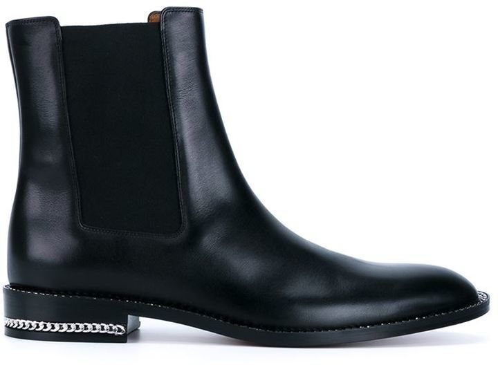 NEW  1295+ Givenchy Black Leather Chelsea boot Sz 40 US10