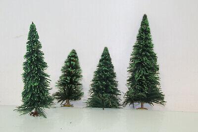 Disciplinato Traccia G Conifere Verde Circa 16-26 Cm Di Altezza 4 Pezzi La Raccolta Per Lgb (js7616). O-mostra Il Titolo Originale