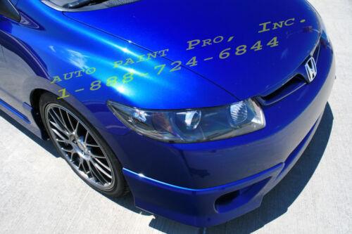 fiji blue metalic 1 gallon acrylic enamel single stage auto body shop car paint