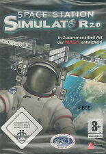 PC CD-ROM + Space Station + Simulator 2.0 + Weltall + Raumstation ISS+ Crew +